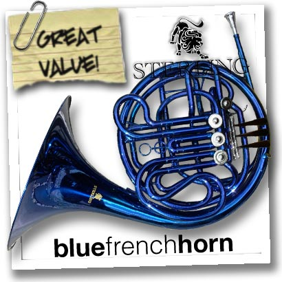 BLUE-Bb-F-Double-FRENCH-HORN-Highest-Quality-NEW