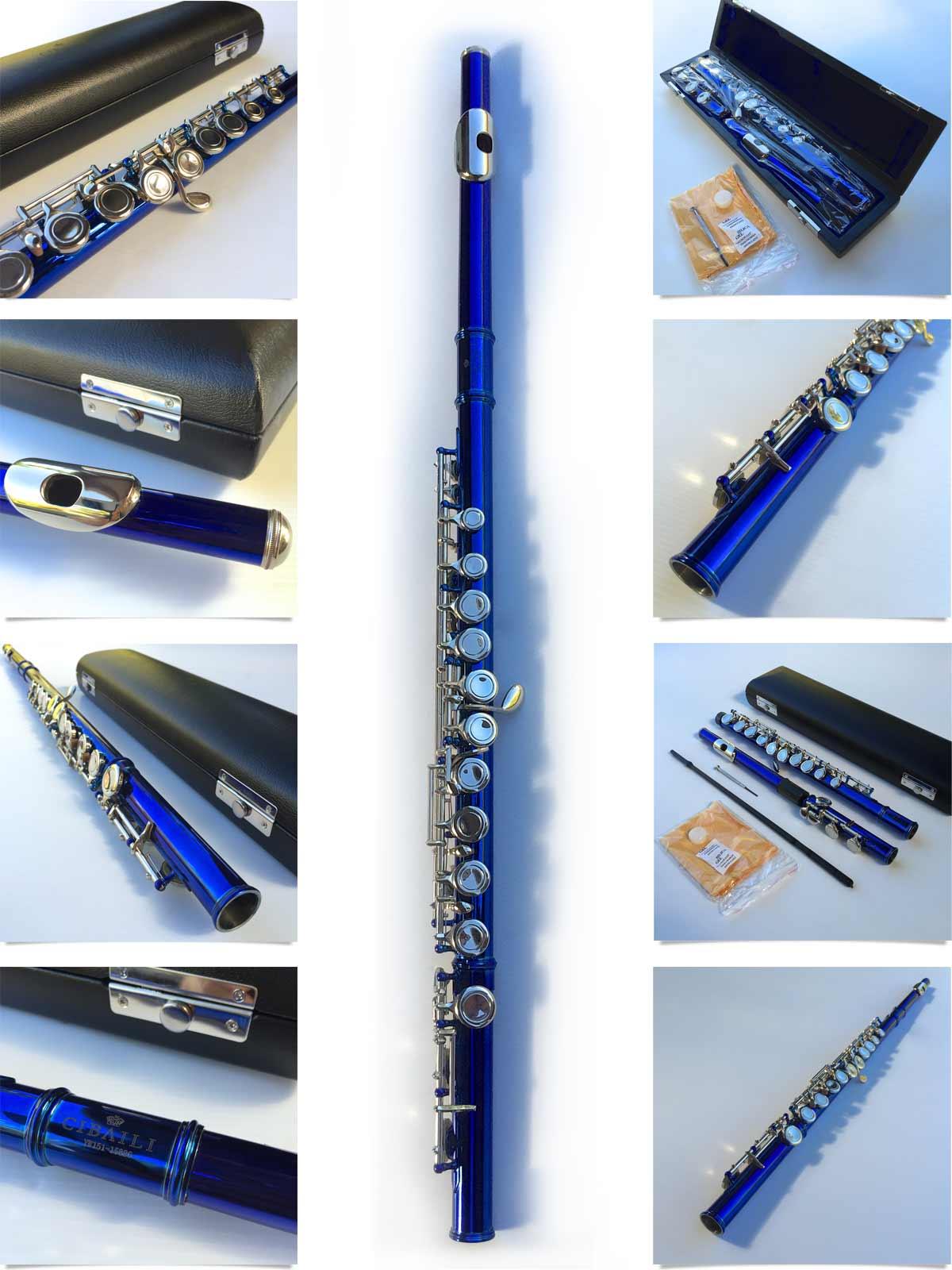 Yamaha Intermediate Flute Offset G C Foot