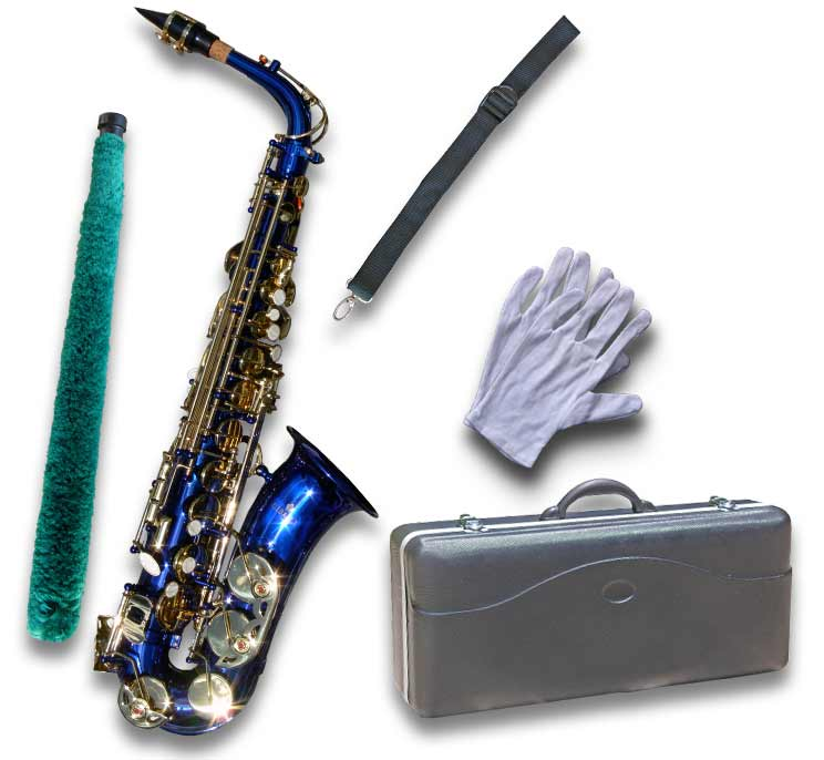 essay in blue saxophone