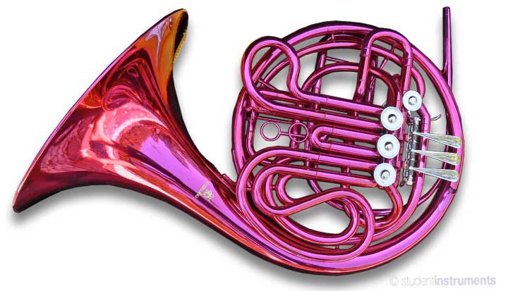 pink bb f double french horn sterling pro quality brand new with case ebay. Black Bedroom Furniture Sets. Home Design Ideas